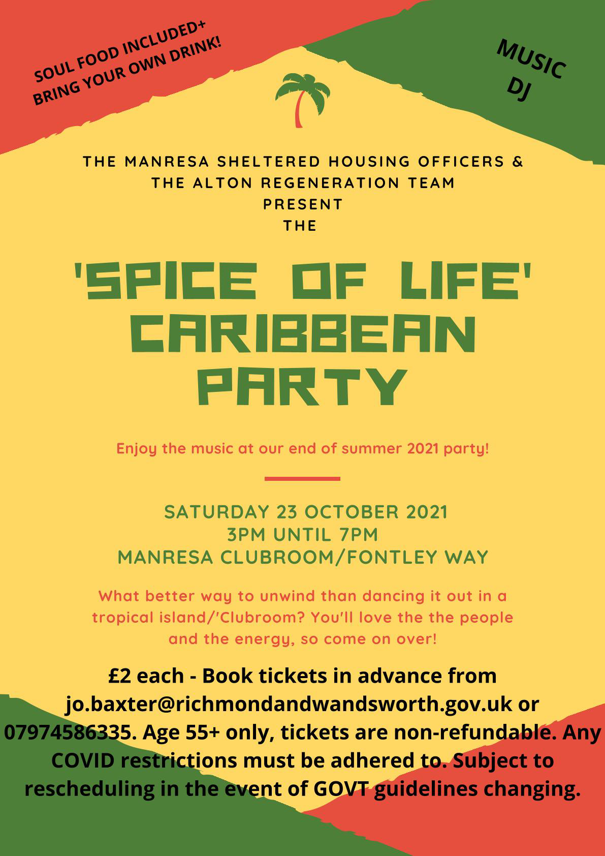 Spice of Life Caribbean Party