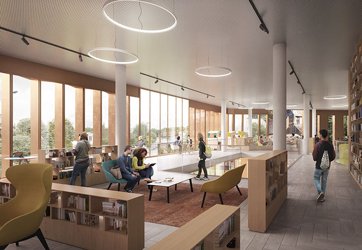 Visualisation of the new library